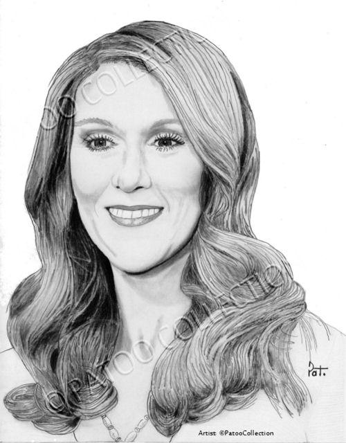 Céline Dion par dedrika